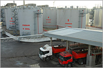 Nevsky Mazut, Gasoline and diesel storage services, LenCGN tank farm